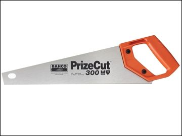 BAHCO PrizeCut Toolbox Handsaw 350mm (14in) 15tpi 300-14-F15/16-HP