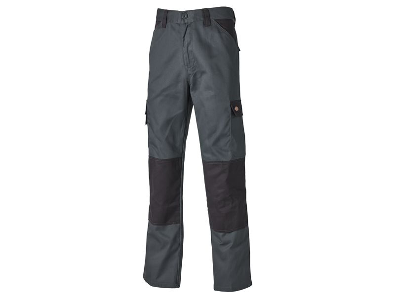 Dickies Everyday Trousers Grey / Black | Workwear | Millenniumsuppliesshop.co.uk |