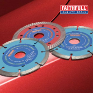 Faithfull 115mm Diamond Blade Bonus Pack