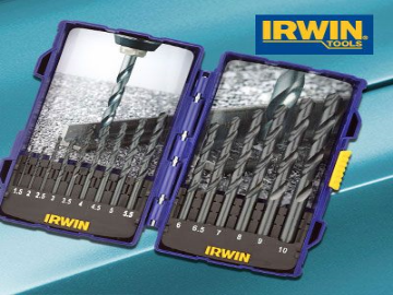 Irwin HSS Professional Drill Bit Set 15 Piece