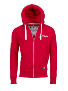 LIMITED EDITION Red Hoodie JCB