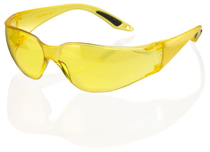 VEGAS SAFETY SPEC Yellow/Clear/Grey Lens